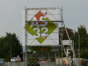 freecom panneau 4x3 m
