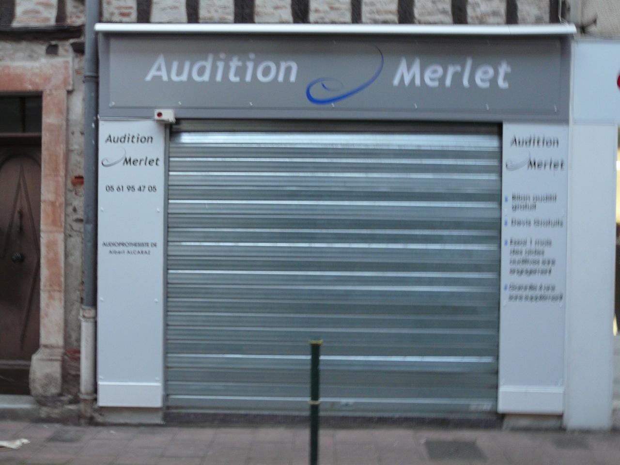 Enseigne Audition a Cazères par Freecom Auch