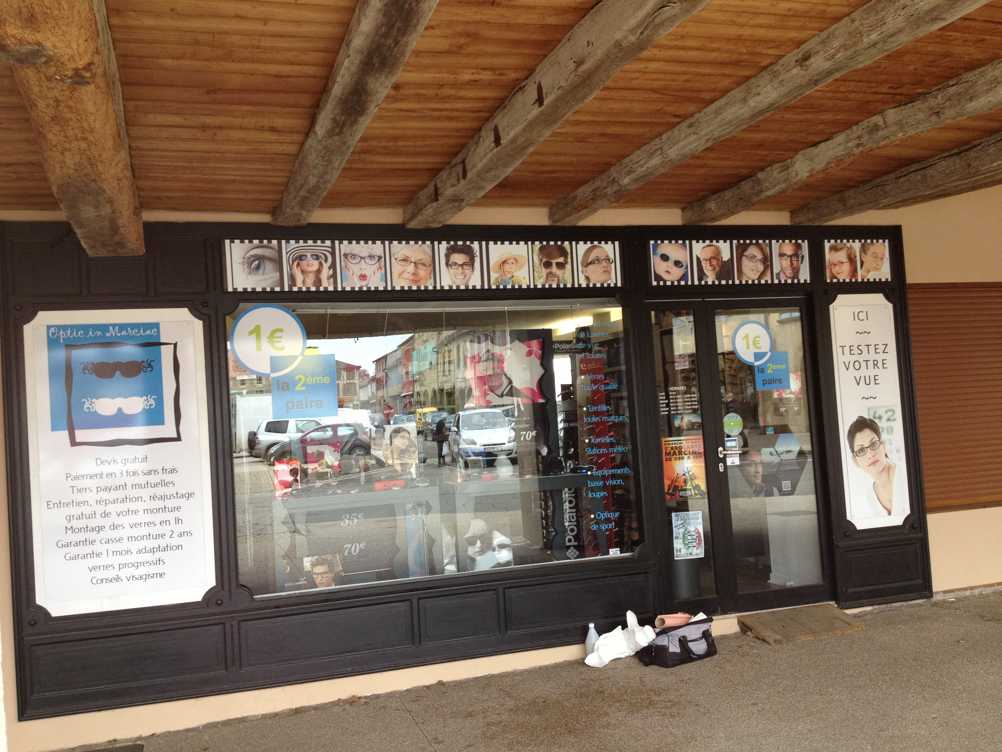 FreeCom spécialiste de l'enseigne pour magasin en leds vous presente Optic in Marciac