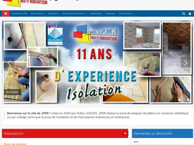 Site internet wordpress a Mirande