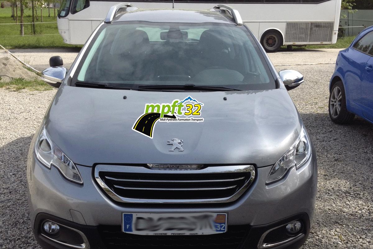 FreeCom marquage de vehicule adhesif à Samatan